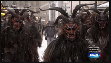 I supported the shoot for the Krampus episode of this US travel show as local fixer in Munich/Germany